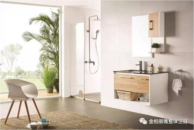 【初秋系列】小清新自然风格浴室柜丨为入秋后的卫生间涂上那一抹亮色