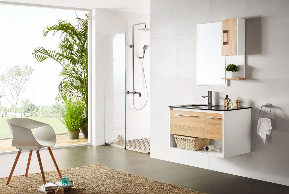 浴室柜收纳设计|教你浴室柜收纳技巧