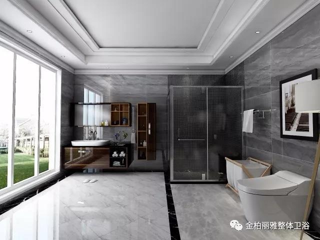 在金柏丽雅高端整体卫浴,人人都是整体卫浴设计大师