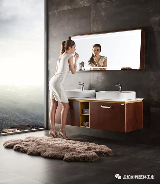 金柏丽雅卫浴丨给颜值控打造一个靓丽妆容的魔法卫浴空间
